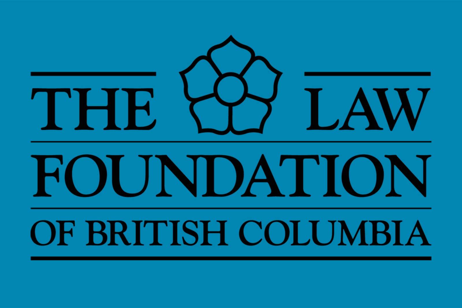 law foundation of british columbia